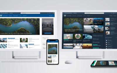 Lansering av SharePoint Home Site