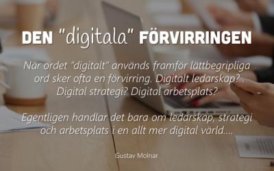 """Den """"digitala"""" förvirringen"""